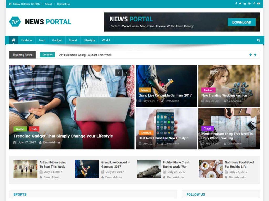News Portal WordPress Themes