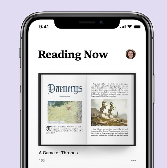 Apple Books Reading-Now