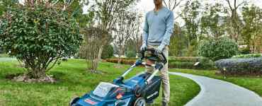 cordless electric lawn mowers
