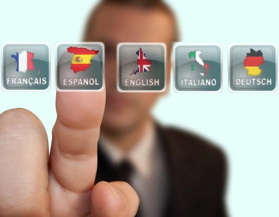 multi language on facebook