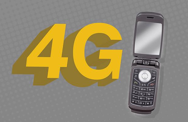 4g in dumb phones