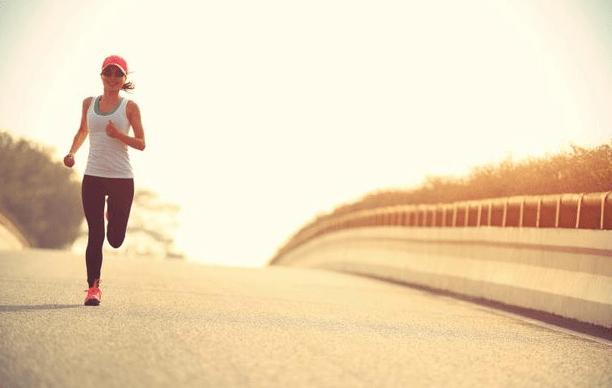 jogging belly fat