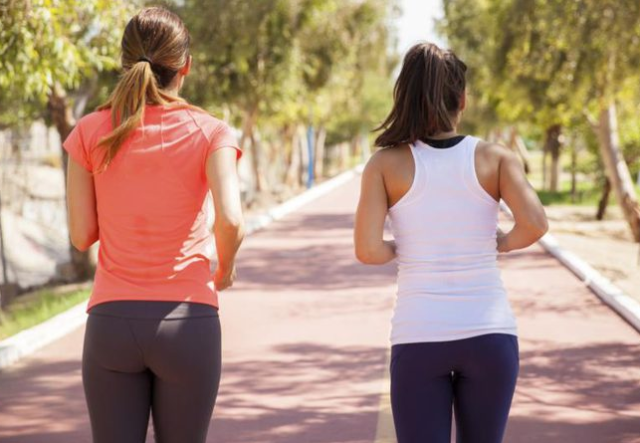 jogging reduce butts