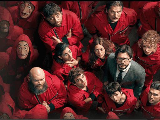 Top 5 Trending Shows On Netflix - Updated 2021 Money Heist