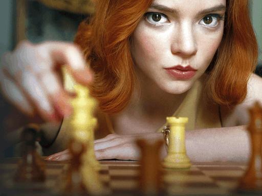 Top 5 Trending Shows On Netflix - Updated 2021 The Queens Gambit