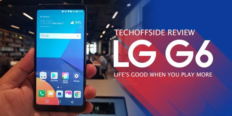รีวิว LG G6 ราคา