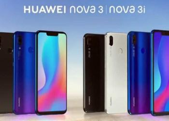 Huawei Nova 3 Huawei Nova 3i