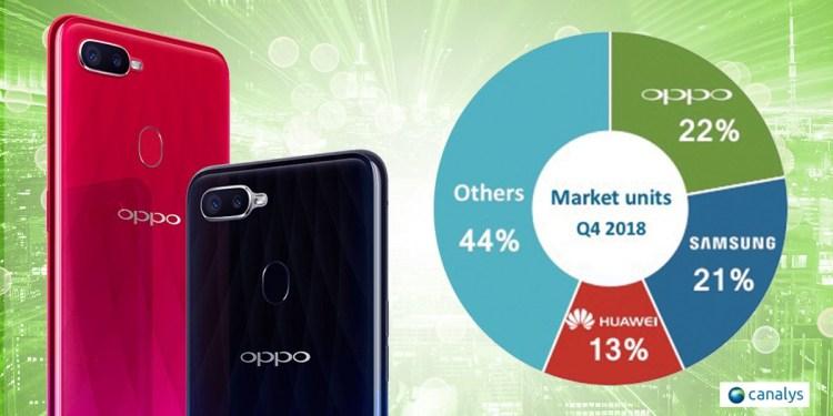 OPPO จึงก้าวขึ้นสู่ อันดับ 1 สมาร์ทโฟนในไทย