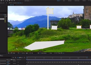 Content Aware Fill Adobe After Effect