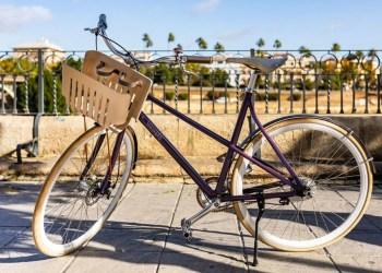 Nespresso Upcycling bicycle