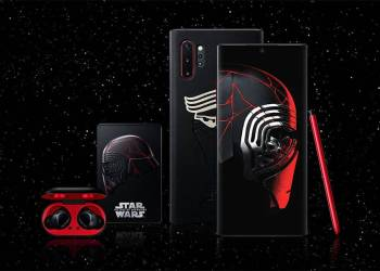 Galaxy Note10 plus Star Wars Special Edition