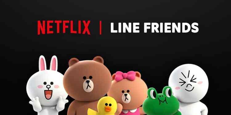 Netflix x LINE FRIENDS