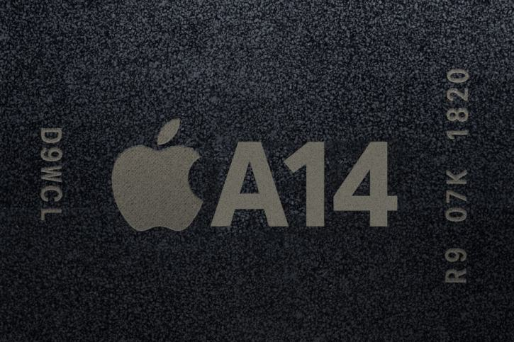 Chip A14 in iPhone 12