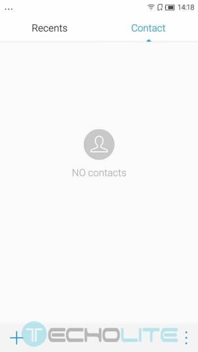 contacts lenevo