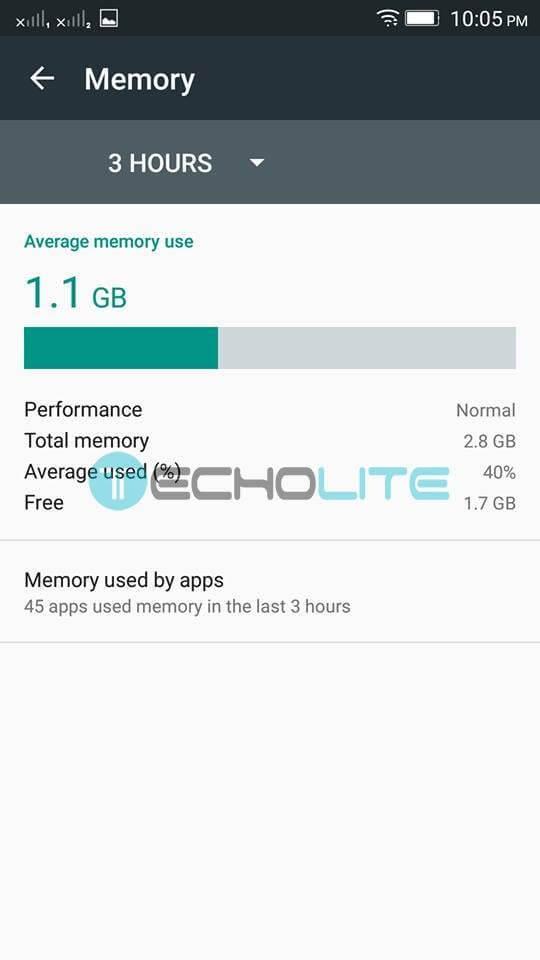 lenovo k4 note storage