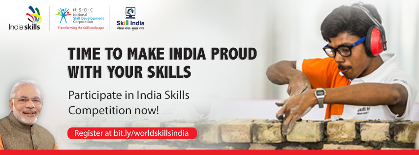 India Skills Competition 2018 Categories
