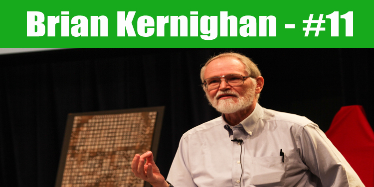 image: Brian Kernighan top programmer in the world