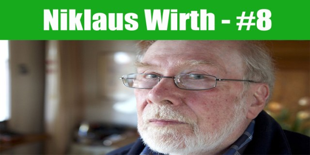 image: Niklaus Wirth top programmer in the world