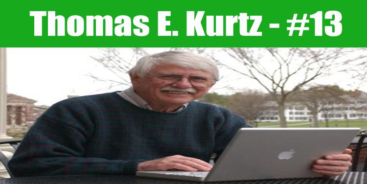 image: Thomas E. Kurtz top programmer in the world