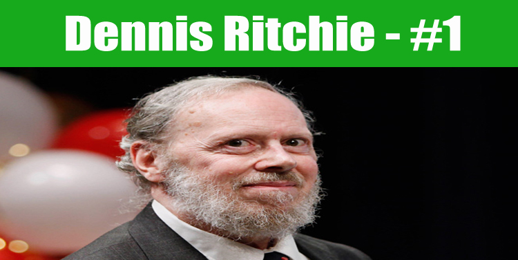 image: Dennis Ritchie top programmer in the world