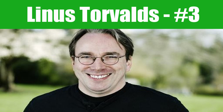 image: Linus Torvalds top programmer in the world