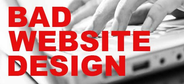 5 Really Bad Websites Design Features That You Should Avoid