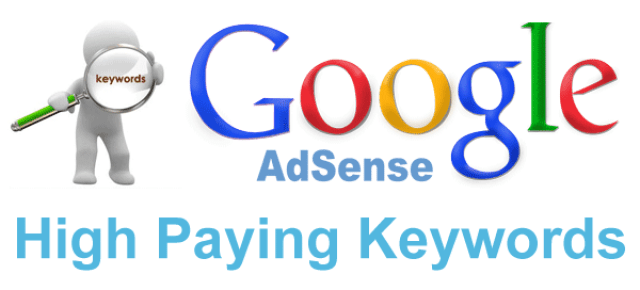 Top High Paying Keywords of Google Adsense in 2016