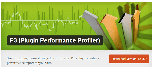 image : P3 Profiler best wordpress plugins that helps you to speed up your website