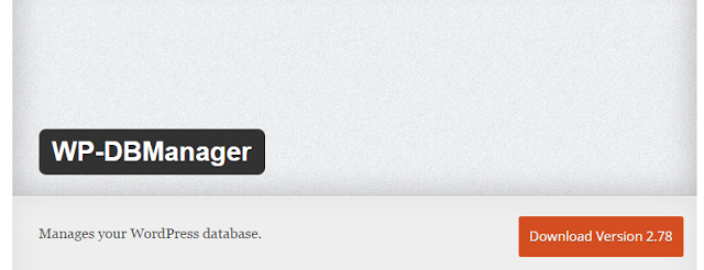 image : wp-dbmanager best wordpress plugin to speed up your website or blogs