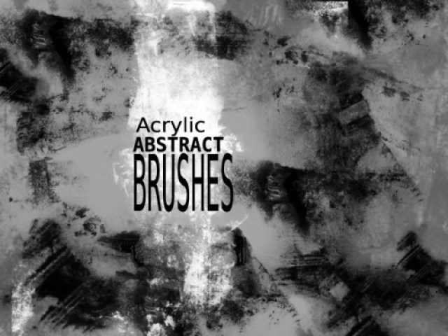 36 Best Collection of Free Acrylic Brushes For Photoshop Designers