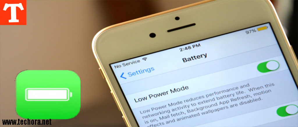 How To Enable Low Power Mode in iPhone, iPad