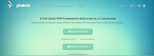 Phalcon best php framework for web development