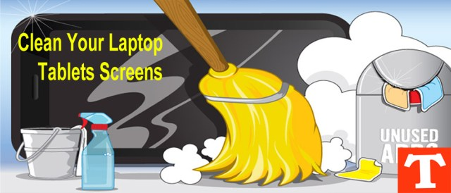 How To Clean Touch Screen of Laptop or Tablet Devices