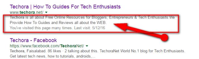 How To Add SEO Meta Description To Your Blogger Blog
