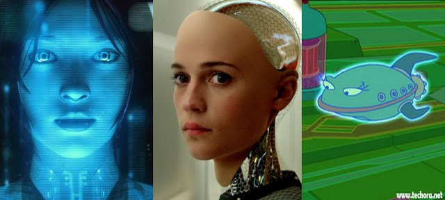 Artificial intelligence robots are females