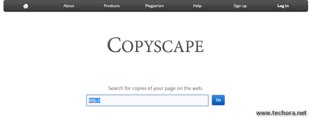 Copyscape free online plagiarism checker tools