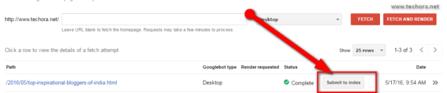 How To Submit Site URL To Google & Index Quickly fetch as google master toosl