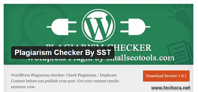 Free wordpress plugin for plagiarism checker tools