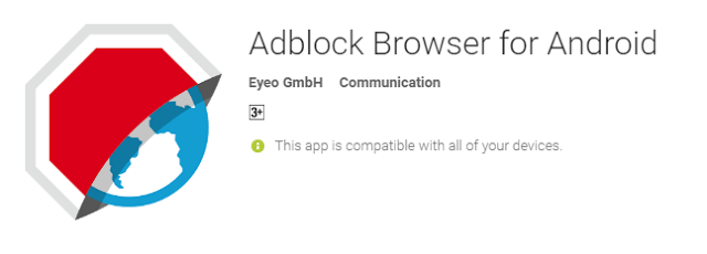 Adblock Browser for Android the cool android app for android user