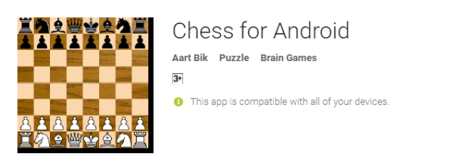 Chess For Android the cool android app for android user
