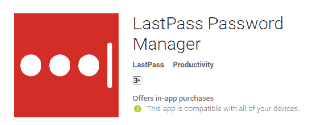 the best android app lastpass for android phone