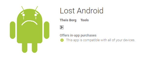 Lost Android the cool android app for android user