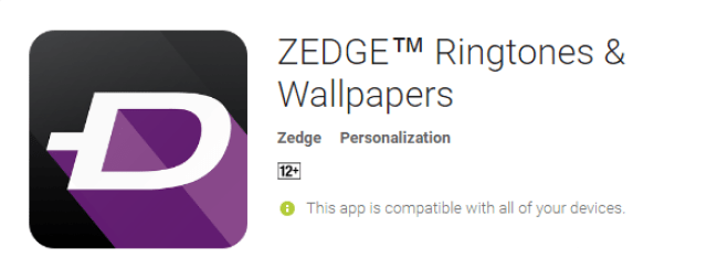 Zedge Ringtones & Wallpapers the best android app
