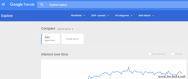image of google trends the best seo tools