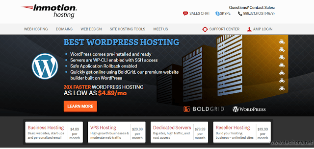 image of inmotion hosting best web hosting company in the world
