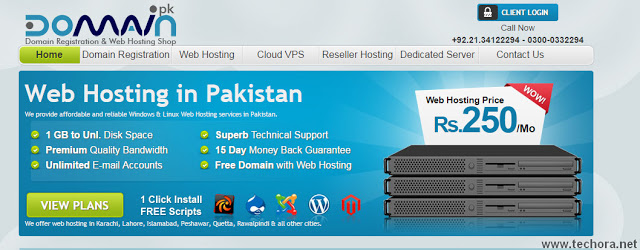 image of Domain.PK best and cheap web hosting provider in Pakistan