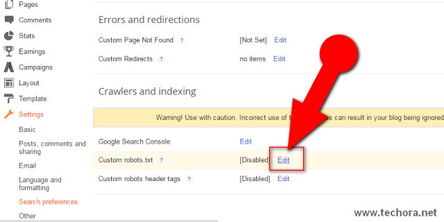 image about how to add seo friendly custom robots.txt file in blogger