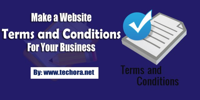 image of How To Make Website Terms and Conditions For Your Business