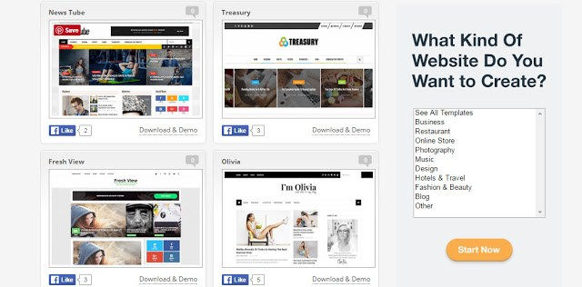 image of best website to download free blogger templates to start blog