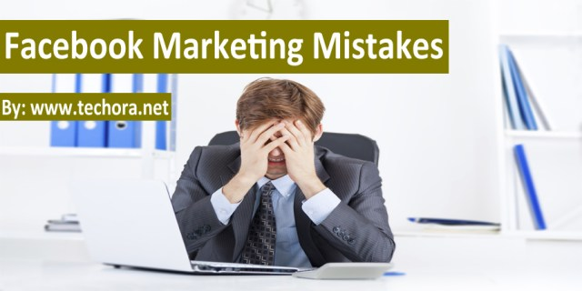 SMM : Image of 12 biggest facebook marketing mistakes you should avoid them